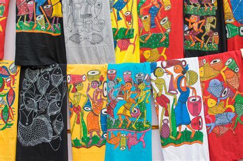 Handcraft Items - painted colorful cloths handicraft items kolkata