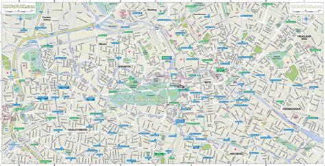 map of berlin guide berlin avec map plans et cartes