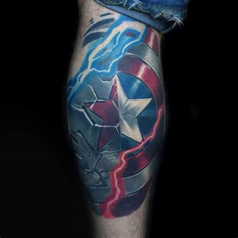 captain america tattoo designs 70 captain america designs for ink