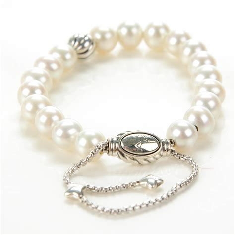 david yurman spiritual bead bracelet david yurman sterling silver pearl 8mm spiritual