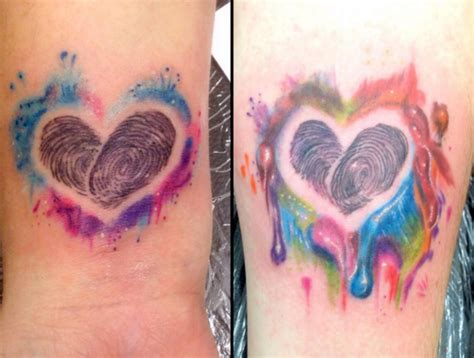 romantic couple tattoos a new trend couples tattoos artist magazine
