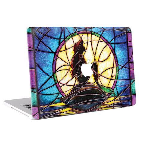 Macbook Skin Aufkleber by Bleiglasfenster Die Meerjungfrau Macbook Skin Aufkleber