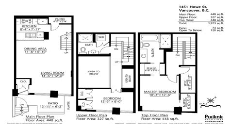 2 Story Townhouse Floor Plans by Townhouse Floor Plans With Loft Two Story Townhouse Floor Plans Modern Townhouse Designs And