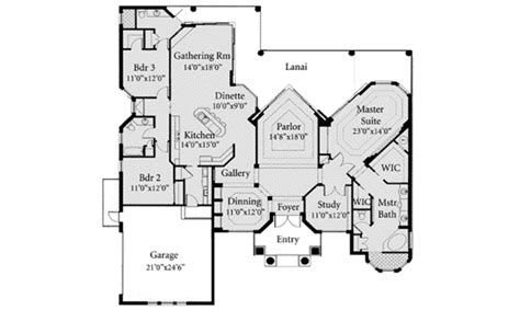 home plan homepw07706 2843 square mediterranean style house plan 3 beds 3 baths 2843 sq ft
