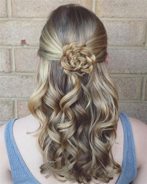 Flower Hairstyles For Hair by 25 Best Ideas About Flower Braids On Flower