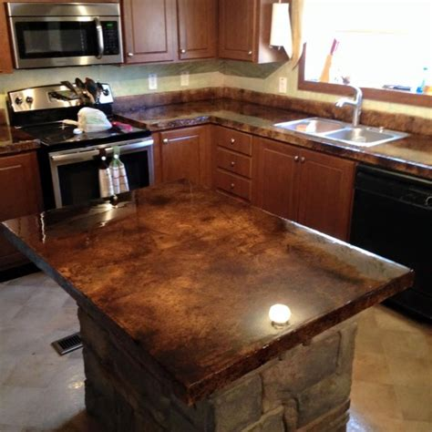 32 Beautiful Epoxy Countertop Kitchen Decoration Epoxy Epoxy Kitchen Countertops