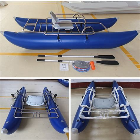 brands of fishing pontoon boats ce brand inflatable pontoon fishing boat new design buy