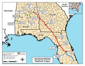 fracking in florida map map of all three pipelines in notice of intent by ferc