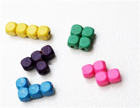 Tetrius Magnet Set by Tetris Craft Make Tetris Pieces Magnets