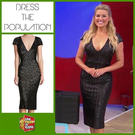 Dress Allison dress the population allison sequin sheath dress in matte