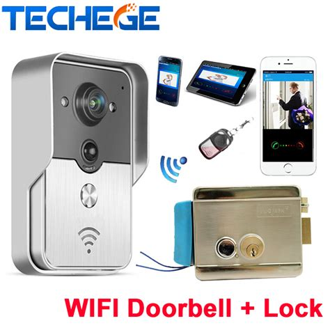 Wifi Doorbell Phone support android and ios app wifi doorbell wireless intercom phone ip door