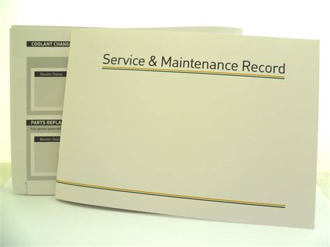 service books car service book new allmakes generic unsted history maintenance record ebay