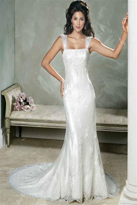 Sheath Wedding Dress by Sheath Wedding Style Dresses Make A Flairy Appearance