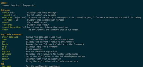 tutorial commandline laravel creating artisan commands with the new simpler syntax in