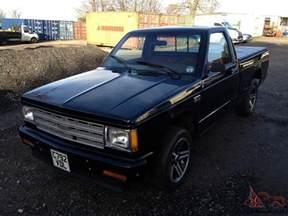 1986 Chevrolet S10 1986 American Chevrolet S10 Truck Chevy