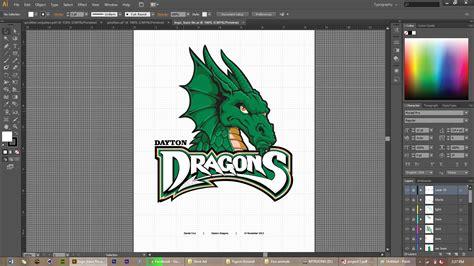 dayton dragons coloring pages sports logo vector recreation arthollo