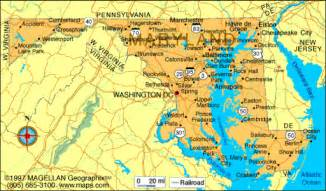 Maryland Map Usa by Usa Dive Sites Maryland