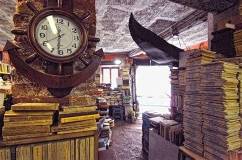 venezia librerie la librairie acqua alta 224 venise