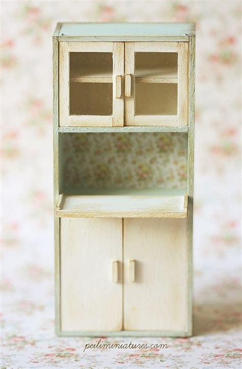 dollhouse kitchen cabinets miniature kitchen