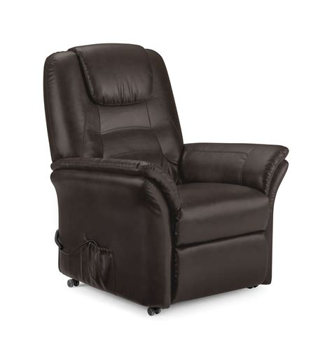 electric recliner chair repairs uk riva electric recliner chair brown faux leather new ebay