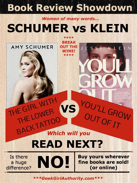 Book Review Up And By Klein by Schumer Vs Klein Book Review Showdown