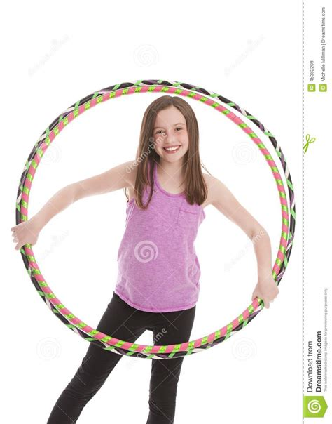 portrait preteen swimsuit holding hula hoop stock photo hula hoop fun stock image image of tween tank energetic