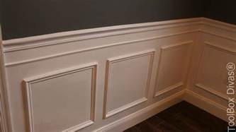 Who Installs Wainscoting How To Install Picture Frame Moulding Wainscoting