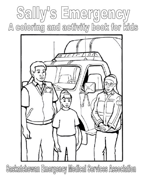 paramedic badge coloring page coloring pages
