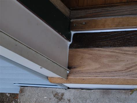 Door Treshold Joint Door Thresholds Exterior Door Sill Replacement