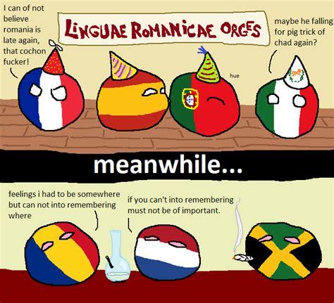 Meme Ro - romania still cannot into romance party polandball
