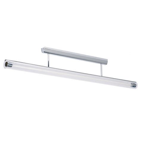 endon modern polished chrome fluorescent ceiling light