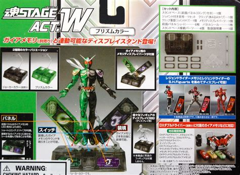 Tamashii Stage Act 5 For Mechanics Japan bandai tamashii stage act w for mechanics black ver