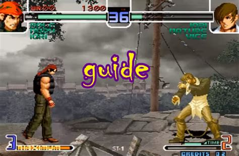 king of fighter 2002 apk guide king of fighters 2002 for pc