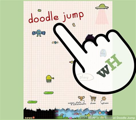 how to make doodle jump how to be at doodle jump 7 steps with pictures