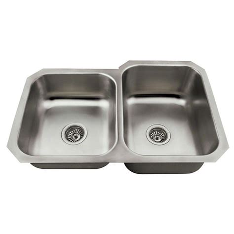 kitchen sinks direct mr direct undermount stainless steel 27 1 2 in double