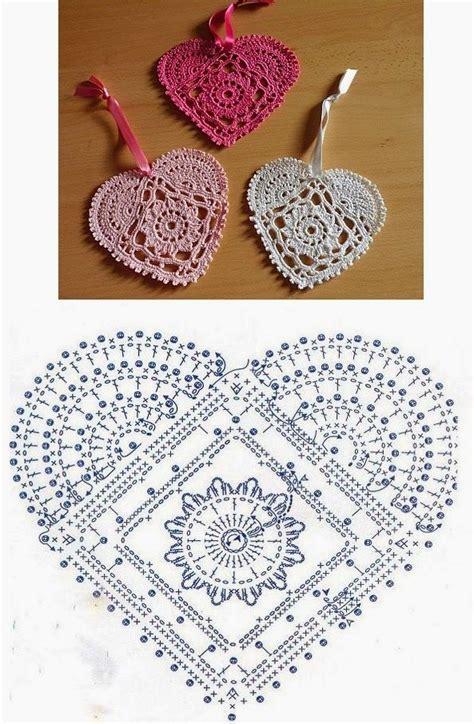 heart pattern lace lace crochet heart pattern crochet hearts pinterest