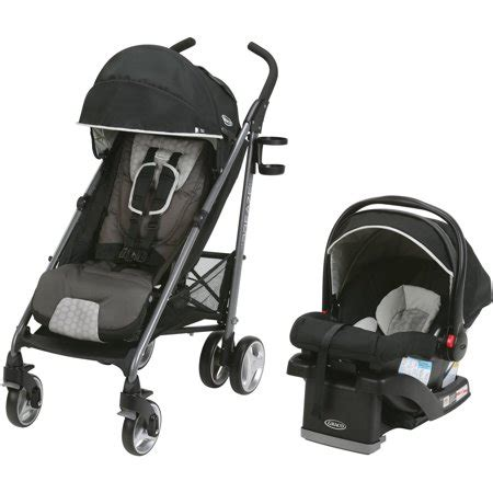 graco breaze travel system stroller  snugride click