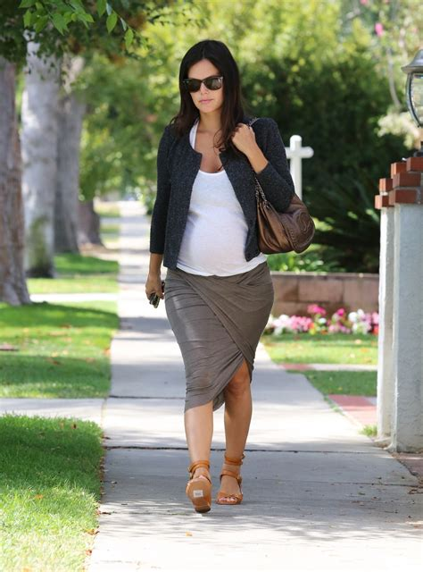 rachel bilson pregnant pregnant rachel bilson out and about in west hollywood
