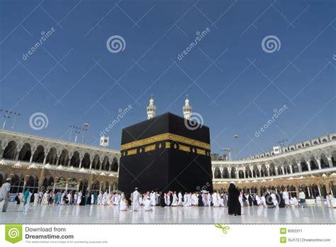 kaaba  mecca editorial photo image  religion minaret