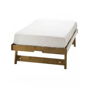 Folding Single Bed Eleanor Trundle Bed Single Folding Legs Honey Oak Ebay