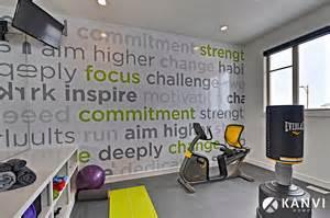Motivational Wall Stickers contemporary home gym
