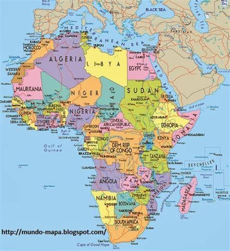 europa y africa mapa politico mapa de africa pol 237 tico