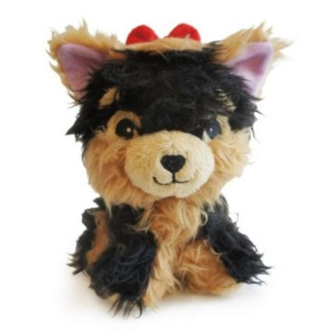 teacup yorkie stuffed animal rosie the yorkie plush paws couture pet boutique