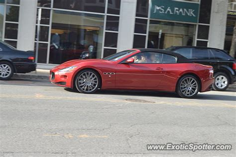 maserati of new jersey maserati grancabrio spotted in summit new jersey on 09 02