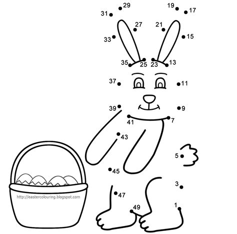 bunny rabbit coloring pages activities easter printables easter worksheet activity sheet free