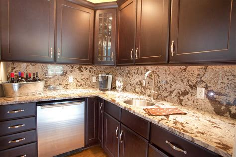 backsplash ideas for kitchens with granite countertops and