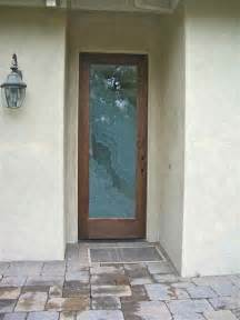 Frosted Glass Exterior Doors Entry Door Glass Sans Soucie Glass