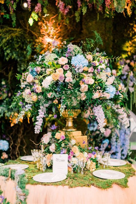 enchanted garden wedding theme floral inspiration with amie bone flowers fairytale woodland