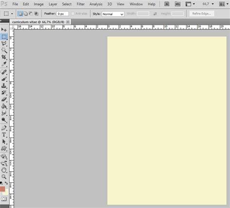 membuat cv dengan adobe photoshop tutorial membuat curriculum vitae menggunakan adobe photoshop