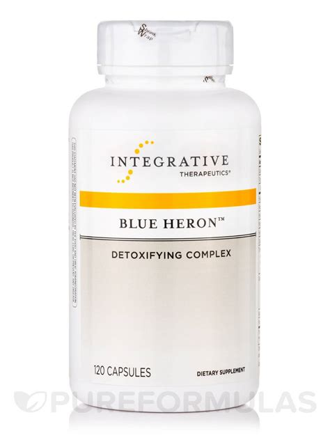 Blue Heron Detox Cleanse Pills by Blue Heron Detoxifying Complex 120 Capsules